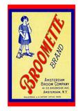 Broomette Brand Print