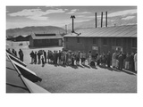 Mess Line, Noon Prints by Ansel Adams