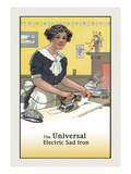 The Universal Electric Sad Iron Print