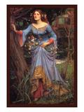 Ofelia Pósters por John William Waterhouse