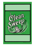 Clean Sweep Broom Label Prints