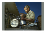 African American World War Ii Truck Mechanic Prints