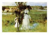 Berthe Morisot - Hide and Seek - Tablo
