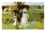 Hide and Seek Premium Giclee Print by Berthe Morisot