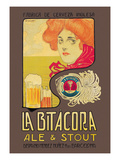 La Bitacora Ale and Stout Premium Giclee Print by Barral Nualart