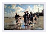 Oyster Gatherers of Cancale Posters af John Singer Sargent