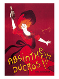Absinthe Ducros Fils Print by Leonetto Cappiello
