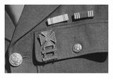 Corporal Jimmie Shohara's Ribbons Print by Ansel Adams