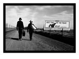 Toward Los Angeles Premium Giclee Print by Dorothea Lange