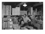 Warehouse, M. Ogi, Manager; S. Sugimoto, Manager of Co-Op; Bunkichi Hayashi Prints by Ansel Adams