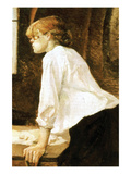 The Laundress Láminas por Henri de Toulouse-Lautrec