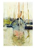 Berthe Morisot - Midina at the Entrance to the Isle of Wight - Tablo