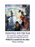 Food Will Win the War Posters by C.E. Chambers