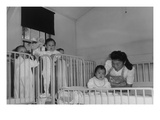 Orphanage Nurse Posters by Ansel Adams