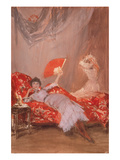 Milly Fitch Print by James Abbott McNeill Whistler