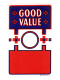 Good Value Broom Label Print