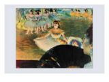 La Danseuse Au Banquet Print by Edgar Degas