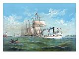 Addison Shipwrights - Fishing Fleet Posters by  W.j. Morgan & Co.