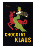 Chocolat Klaus Poster by Leonetto Cappiello