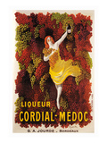 Liqueur Cordial-Medoc Art by Leonetto Cappiello