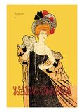 Helene Chauvin Poster by Leonetto Cappiello