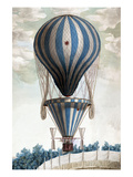 Italian Balloon Ascension Poster