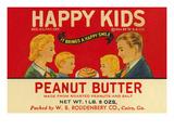 Happy Kids Peanut Butter Prints