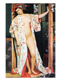 A Woman in Japan Bath Posters by James Tissot