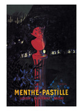 Menthe Pastille Prints by Leonetto Cappiello