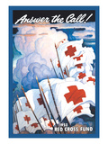 Answer the Call, 1953 Rc Fund Print by Newell Convers Wyeth