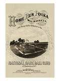 Home Run Polka Posters by  Marsh & Bubna
