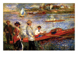 Oarsman of Chatou Prints by Pierre-August Renoir