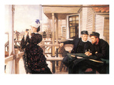 The Daughter of the Master Print by James Tissot