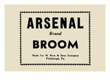 Arsenal Brand Broom Prints