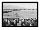 Baseball Game at Manzanar Prints by Ansel Adams