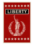 Liberty Broom Label Posters