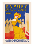 New for the Lady Art by Leonetto Cappiello
