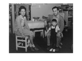 Mr. and Mrs. Henry J. Tsurutani and Baby Bruce Prints by Ansel Adams