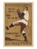 Pennsylvania Baseball - Georgetown Field Prints by  Sudworth