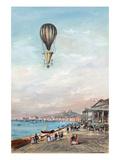 Italian Ballon Ascension Poster