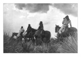 Before the Storm Posters af Edward S. Curtis