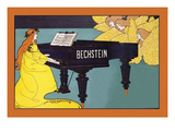 Bechstein - Hark the Angels Premium Giclee Print by Louis John Rhead