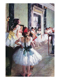 The Dance Class Posters by Edgar Degas