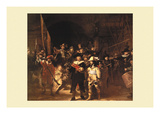 The Night Watch Prints by  Rembrandt van Rijn