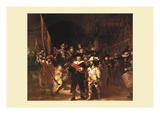 The Night Watch Prints by  Rembrandt van Rijn