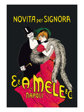 Lady in Red Posters by Leonetto Cappiello