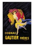 Cognac Gautier Freres Premium giclée print van Leonetto Cappiello