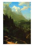 Matterhorn Prints by Albert Bierstadt