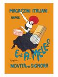 Magazzini Italiani Prints by Leonetto Cappiello