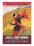 Le Golf De Fon-Romeu Print by Leonetto Cappiello